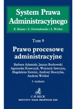Prawo procesowe administracyjne System Prawa Administracyjnego Tom 9