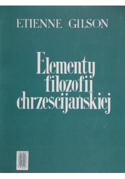 Elementy filozofii chrześcijańskiej