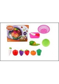 Owoce i warzywa plastikowe na rzepy