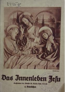 Das innenleben Jefu, 1935r.