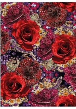 Karnet B6 z kopertą Precious Rose