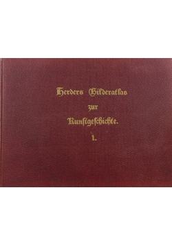 Atlas Herder Histoire de L'art, 1906 r.