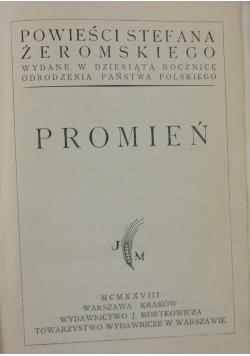 Promień , 1928 r.