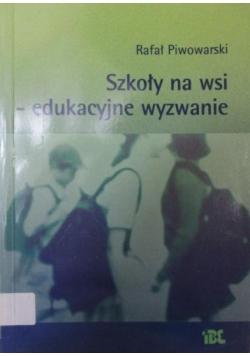 Szkoły na wsi - edukacyjne wyzwanie