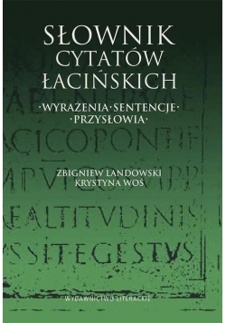 Słownik cytatów łacińskich