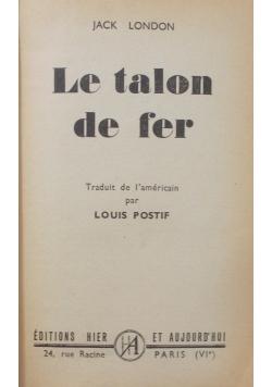 Le talon de fer , 1948 r.