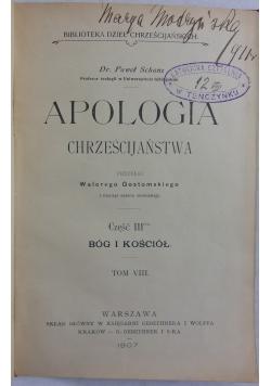 Apologia chrześcijaństwa, 1905 r.