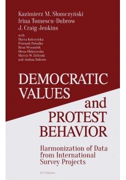Democratic Values and Protest Behavior