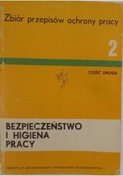 Bezpieczeństwo i higiena pracy , cz II