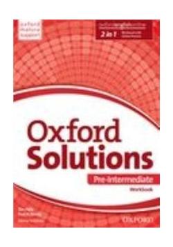 Oxford Solutions Pre-Intermediate WB OXFORD