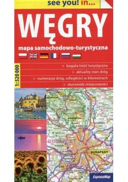 Węgry see you! in mapa samochodowo-turystyczna 1:520 000