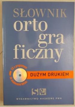 Słownik ortograficzny dużym drukiem