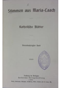 Stimmen aus Maria-Laach, 1913 r.