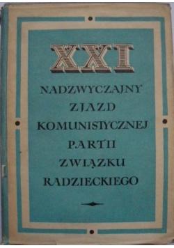 XXI Nadzwyczajny zjazd komunistycznych partii związku Radzieckiego