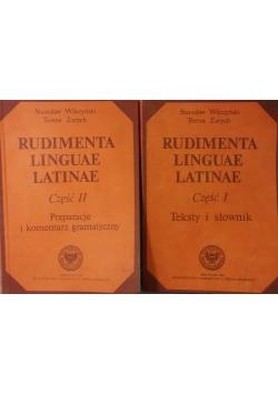 Rudimenta Linguae Latinae , część 1 i 2