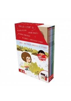 Już czytam! Pakiet 6 książek (czerwony)
