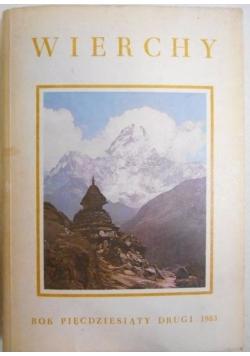 Wierchy. Rok pięćdziesiąty drugi 1983