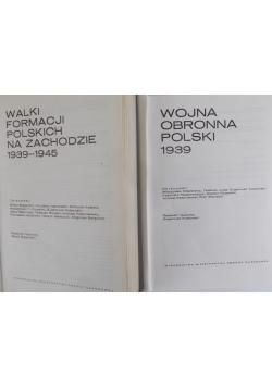 Polski czyn zbrojny w II wojnie światowej - t. I, II