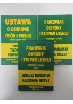 Pracownik ochrony I stopień licencji, cz. I -III