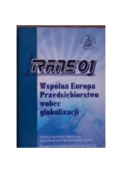 Wpólna Europa przedsiębiorstwo wobec globalizacji
