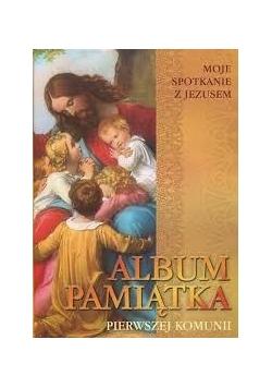 Album Pamiatka pierwszej komunii