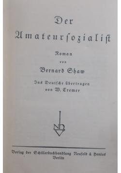 Der Umafeursogialift , 1921 r.
