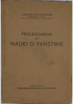 Nauka o Państwie,1946 r.
