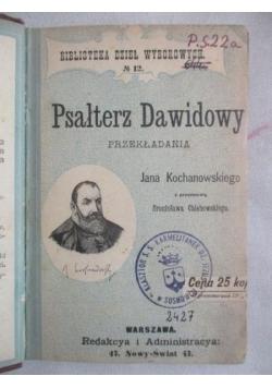 Psałterz Dawidowy, 1897 r.