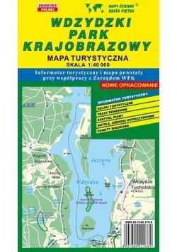Wdzydzki PK 1:40 000 mapa turystyczna PIĘTKA