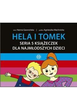Hela i Tomek zestaw 5 książeczek