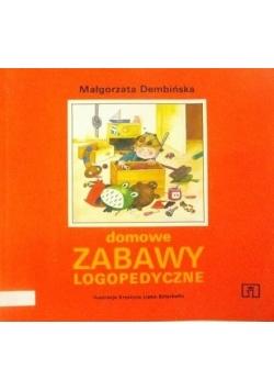 Domowe zabawy logopedyczne