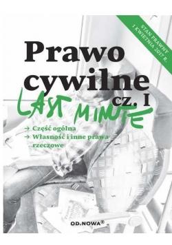Last minute. Prawo cywilne cz.1