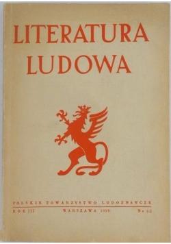 Literatura ludowa