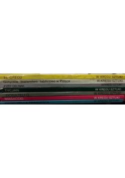 W kręgu sztuki, 7 książek