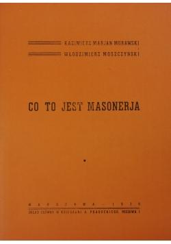 Co to jest Masonerja ,1939r.