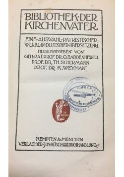 Bibliothek der Kirchenvater, Tom XIX , 1917 r.