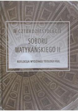 W czterdziestolecie Sobory Watykańskiego II