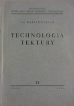 Technologia tektury, 1949r.