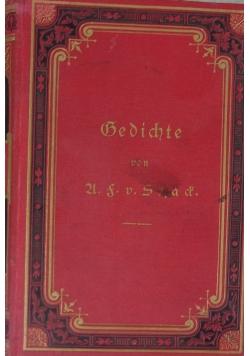 Gedichte ,1874r.
