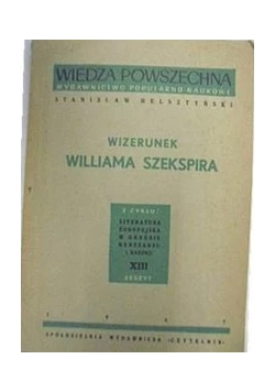 Wizerunek Williama Szekspira, 1947 r.