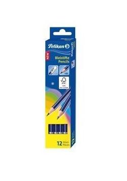 Ołówek GP HB z gumką (12szt)