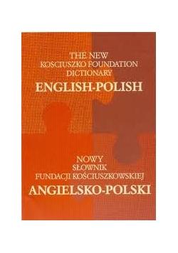 Nowy słownik fundacji kościuszkowskiej polsko-angielski