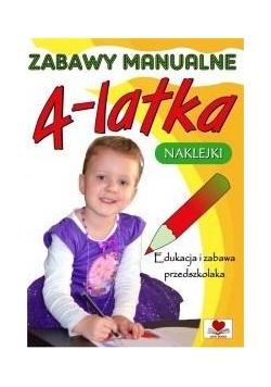 Zabawy manualne 4-latka
