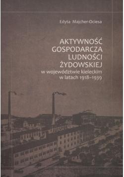 Aktywność gospodarcza ludności żydowskiej w województwie kieleckim w latach 1918-1939
