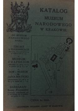 Katalog muzeum narodowego w Krakowie, 1908
