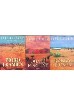 Australijska saga rodzinna, zestaw 3 książek