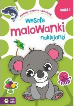 Wesołe Malowanki Naklejanki cz.1