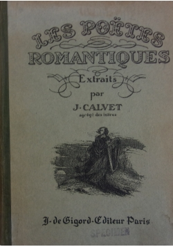 Les poetes romantiques,  ok. 1931r.