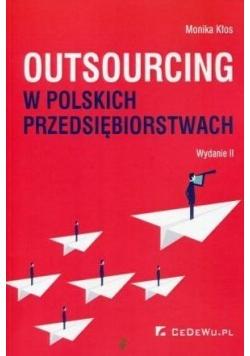 Outsourcing w polskich przedsiębiorstwach