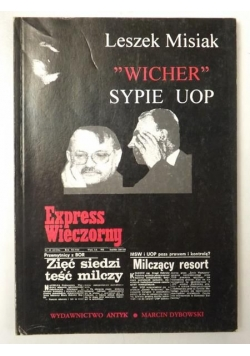"""""""Wicher"""" sypie UOP"""